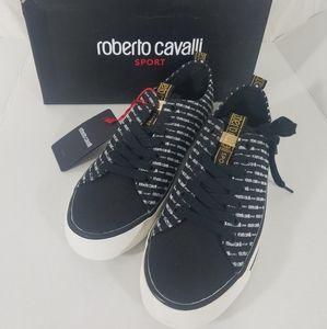 Roberto Cavalli Sport Low Top logo Sneakers